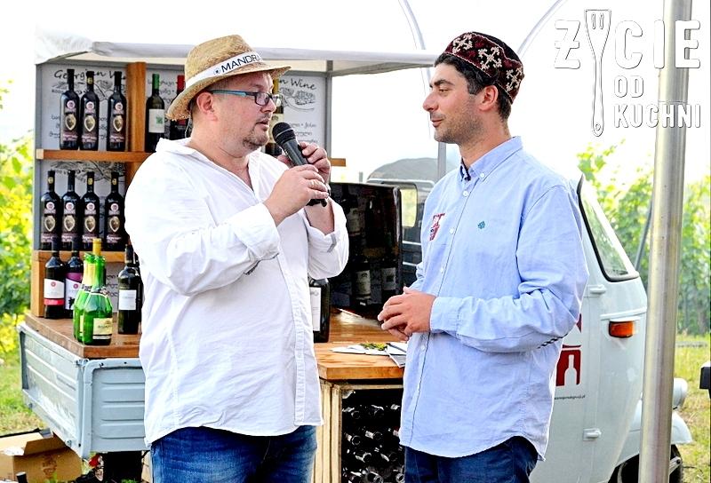 mariusz kapczynski, Gija Bezuaszwili, poznaj smak gruzji, gruzinskie wino, zycie od kuchni, winnica srebrna gora