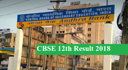 cbse.nic.in 2018 class 12th Result CBSE Board 12th Result