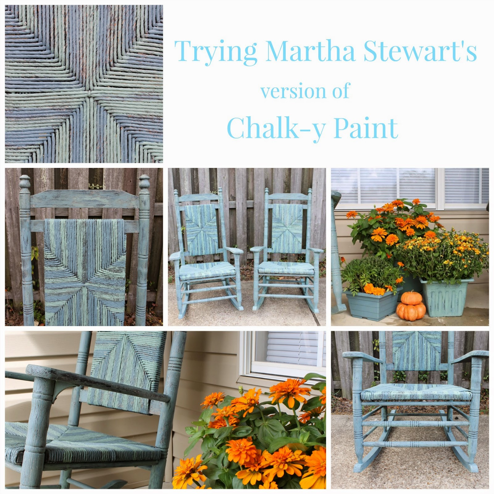 Trying Martha S Chalk Y Paint