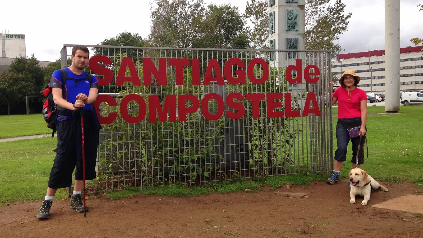 En la ciudad de Santiago de Compostela