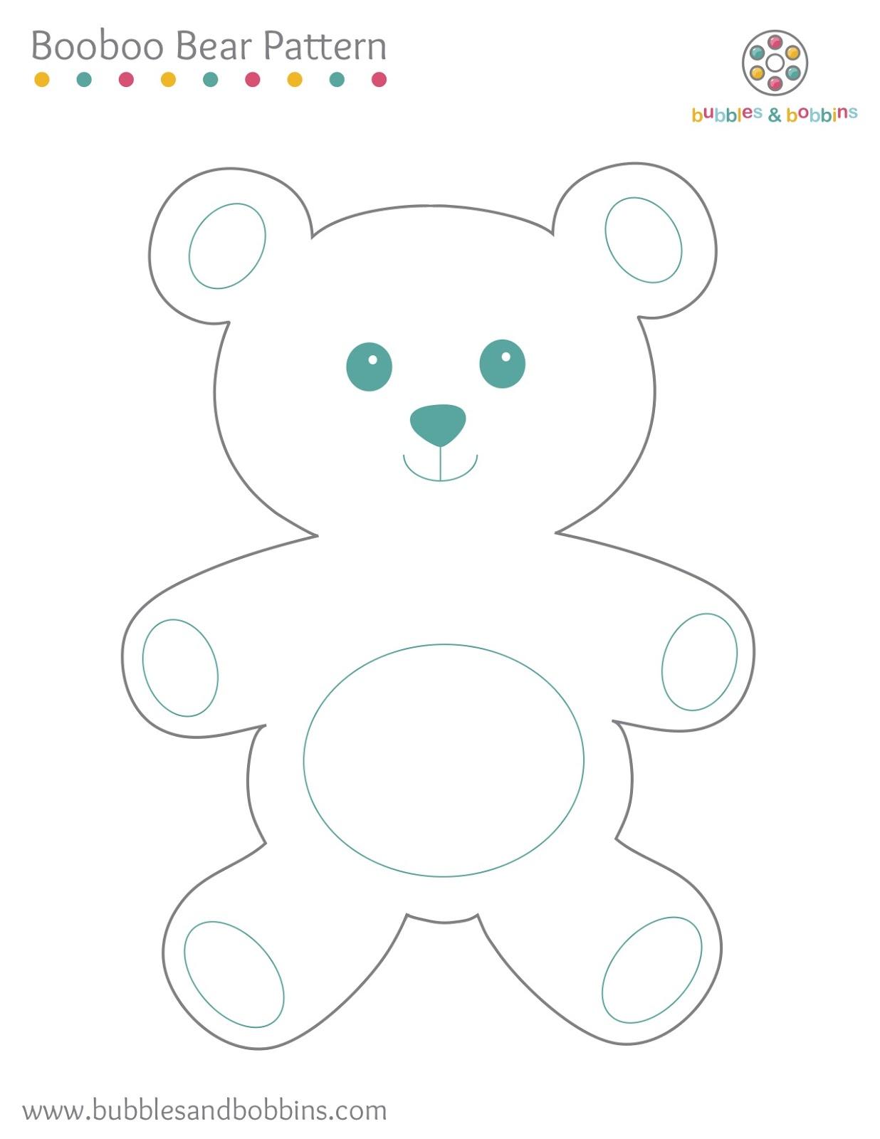 {Booboo Bear Pattern}