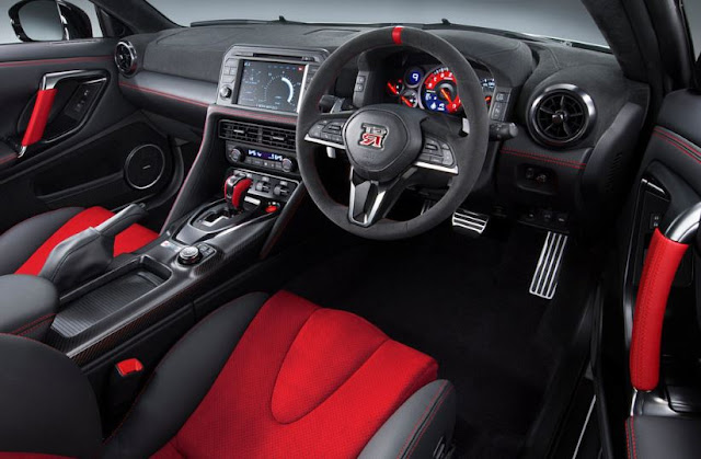 2017 latest  interior Nissan GT-R Review