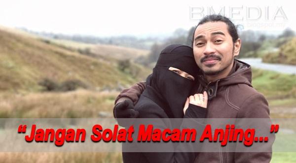 """(Video) """"Jangan Solat Macam Anjing, Solat Lelaki & Perempuan Sama Sahaja"""" – Fynn Jamal"""
