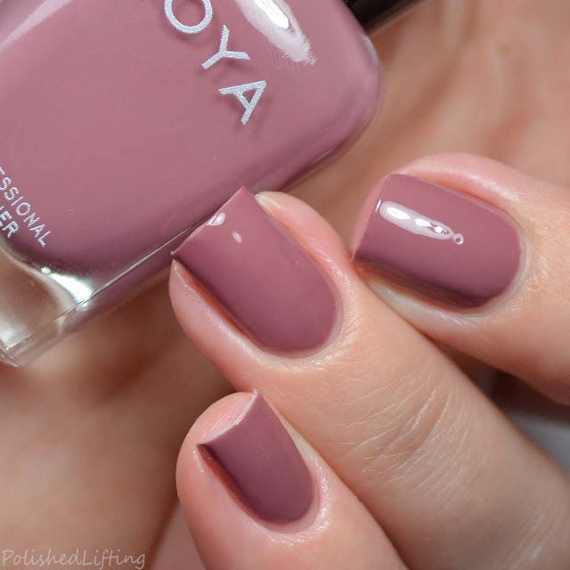 dusty rose nail polish