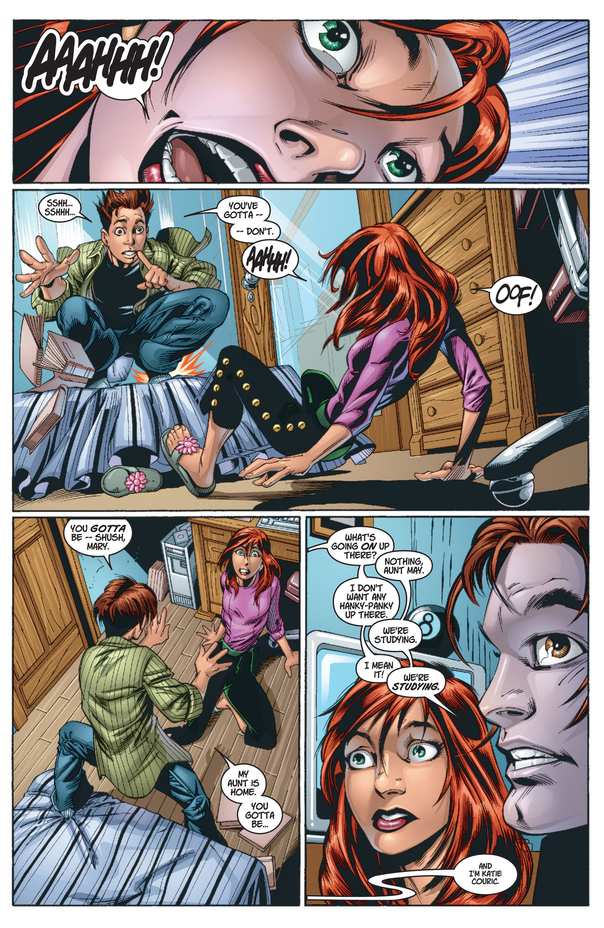Read online Ultimate Spider-Man (2000) comic -  Issue #13 - 10