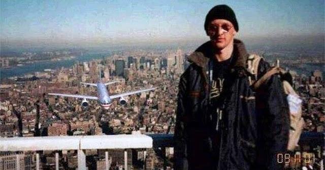 Turista no lugar errado
