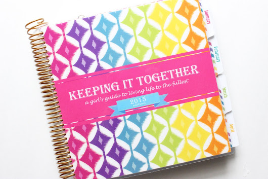 Keeping It Together Planner 2015