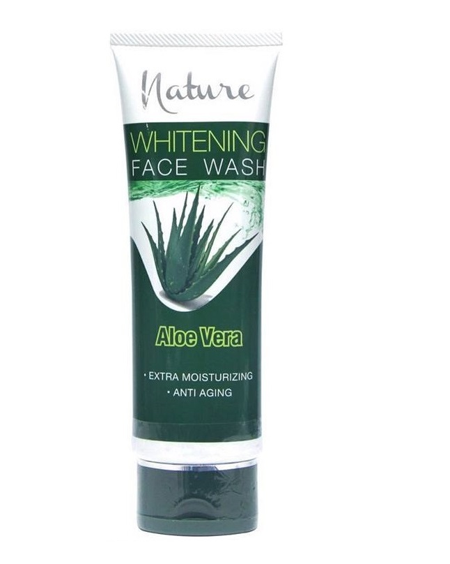Nature Aloe Vera Whitening Facewash 100g
