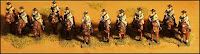ACW15 Mounted Cavalry - Walking (CSA)
