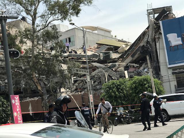 Um forte tremor foi registrado no México na tarde desta terça-feira (19). O Serviço Geológico dos EUA (USGS) detectou terremoto de magnitude 7,1.