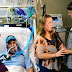 A North Carolina woman decided to hold her wedding in a hospital room