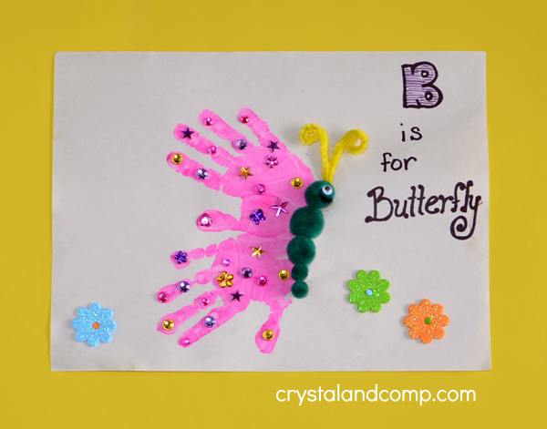 Handprint Spring Crafts For Kids Easter