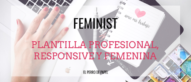 Plantilla Profesional y Responsive para Blogger