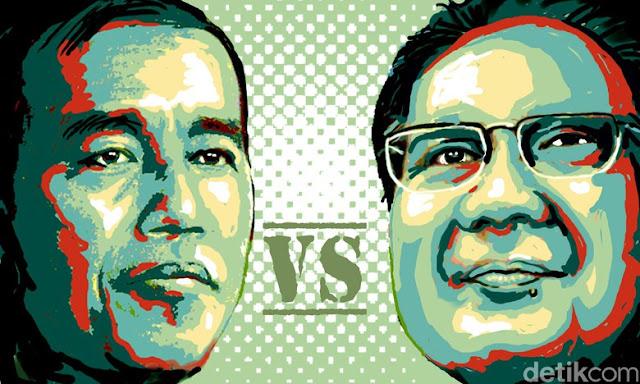 Beda Genderuwo Versi Jokowi dan Prabowo