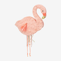 pinata flamant rose et or my little day