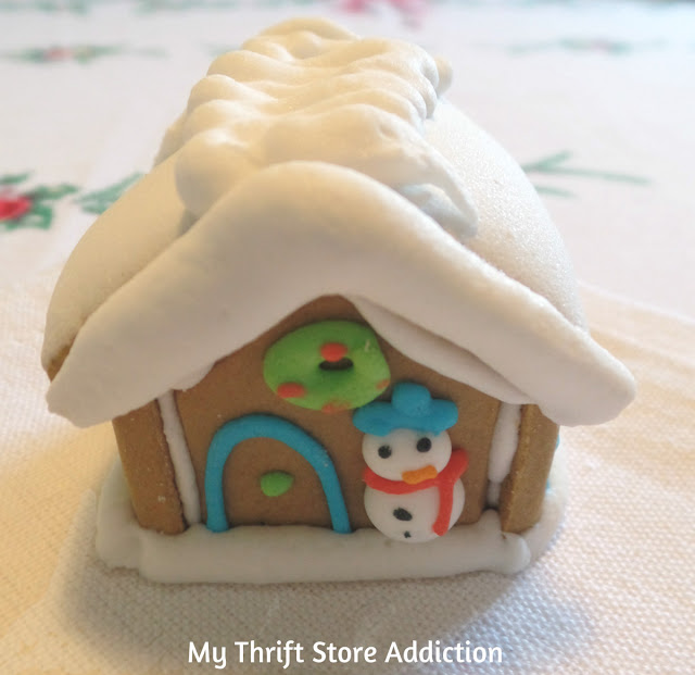 15 minute gingerbread house projects