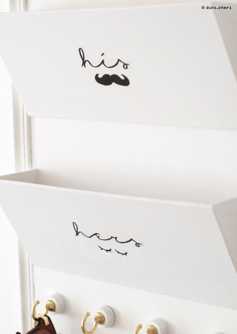 Briefablage selber bauen DIY Anleitung