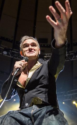 Foto de Morrissey en concierto