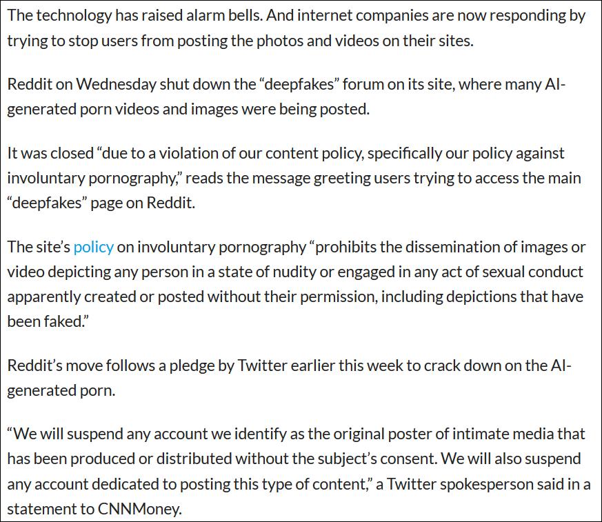 Lift The Veil From Your Eyes 141 213 252 Reddit Bans Deepfake