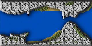 Mapas rol exteriores: Río estrecho
