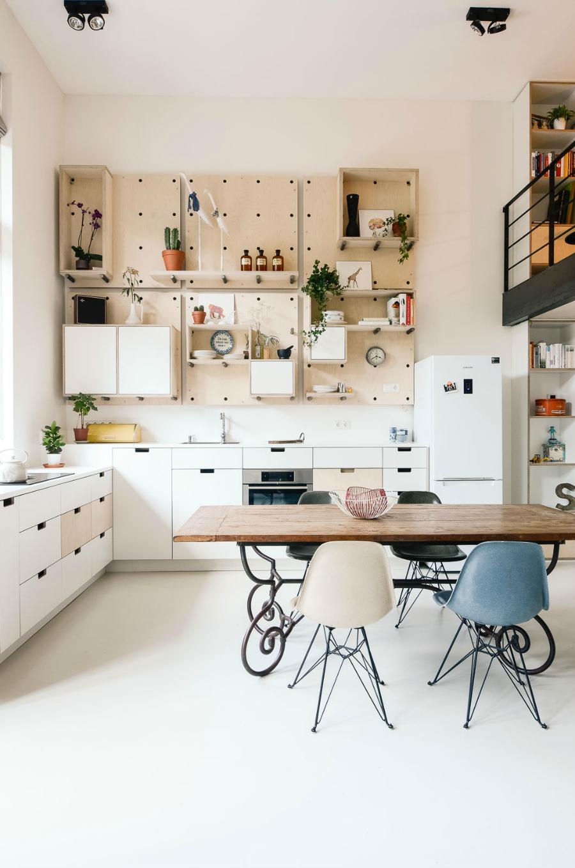 Muebles con Paneles Perforados