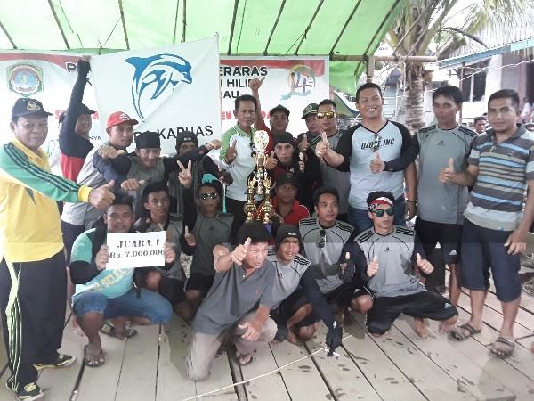 116 peserta Tim pendayung sampan Bidar se Kalimantan Barat Di Sekadau