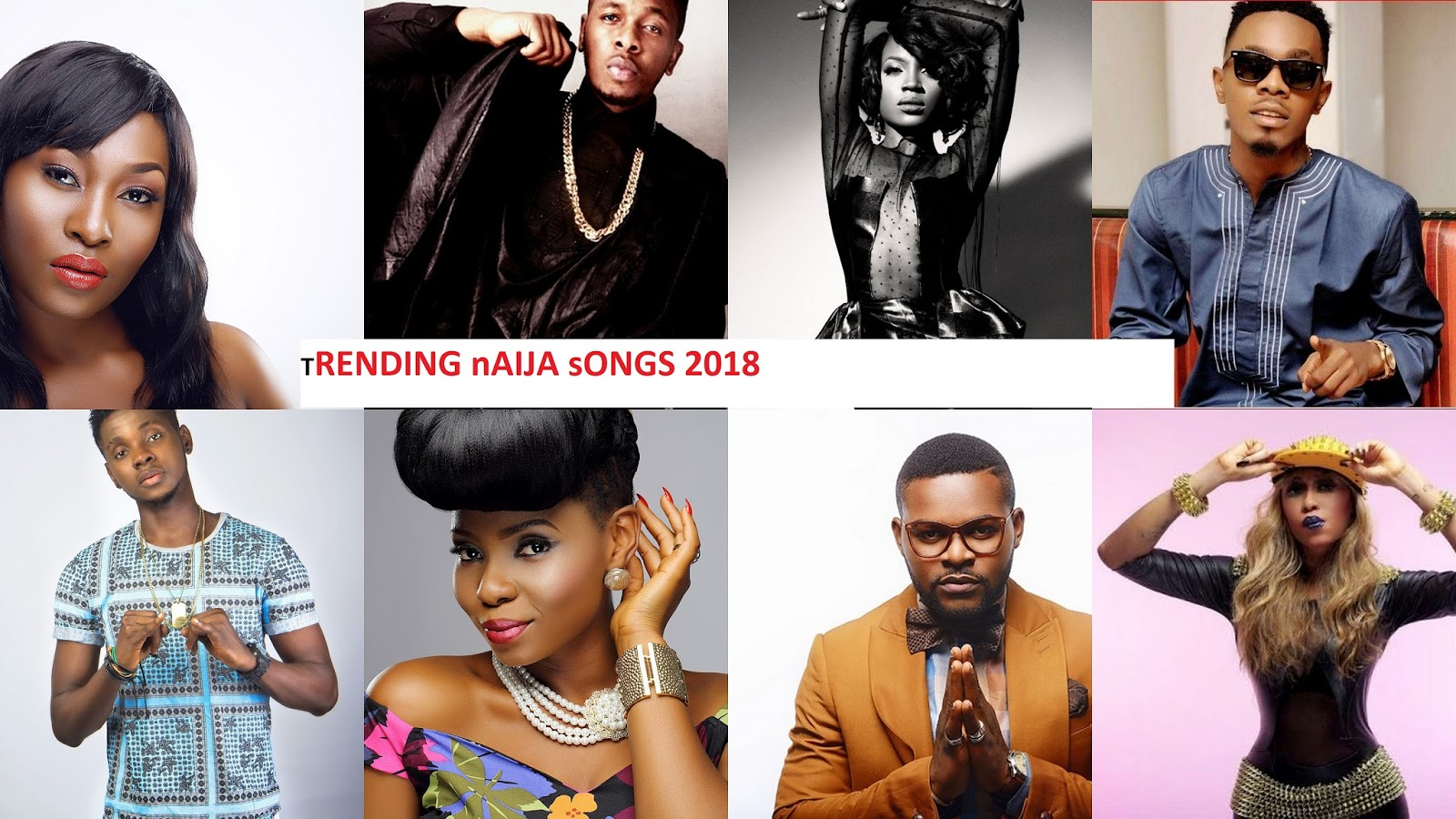 Music: Top 15 Trending Songs ( Almost 6months ) Featuring