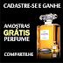 Amostras Grátis - Perfume Chanel Paris