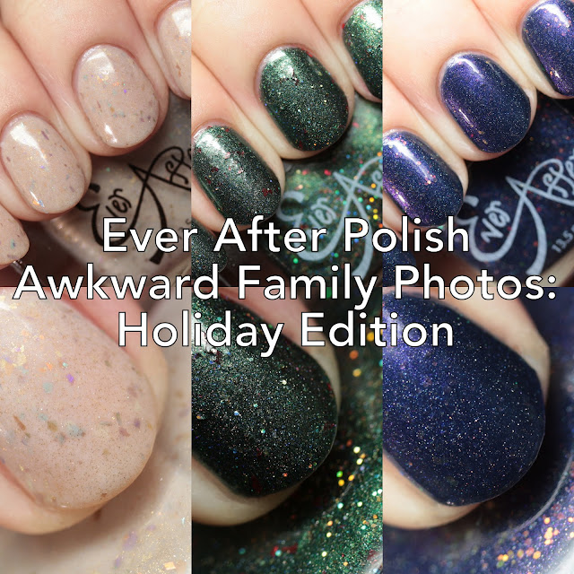 Ever After Polish Awkward Family Photos: Holiday Edition
