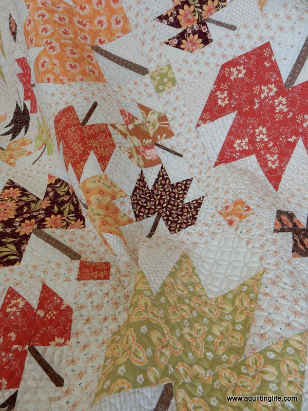 Maple Sky | New Quilt Pattern | A Quilting Life - a quilt blog : maple quilt - Adamdwight.com