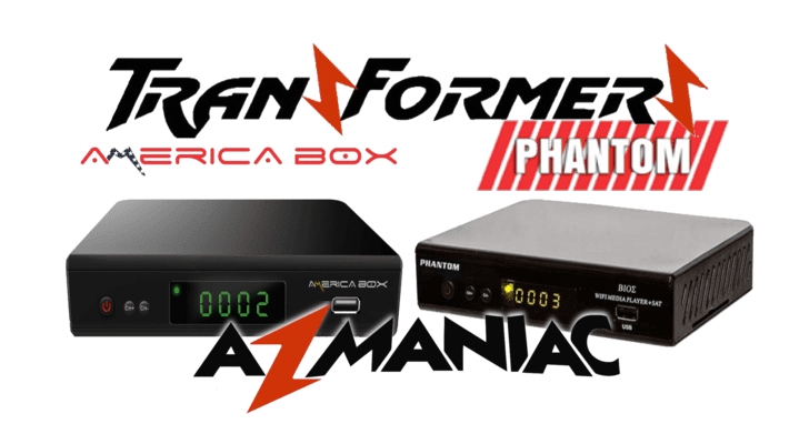 Américabox AMB3606 Transformado em Phantom Bios