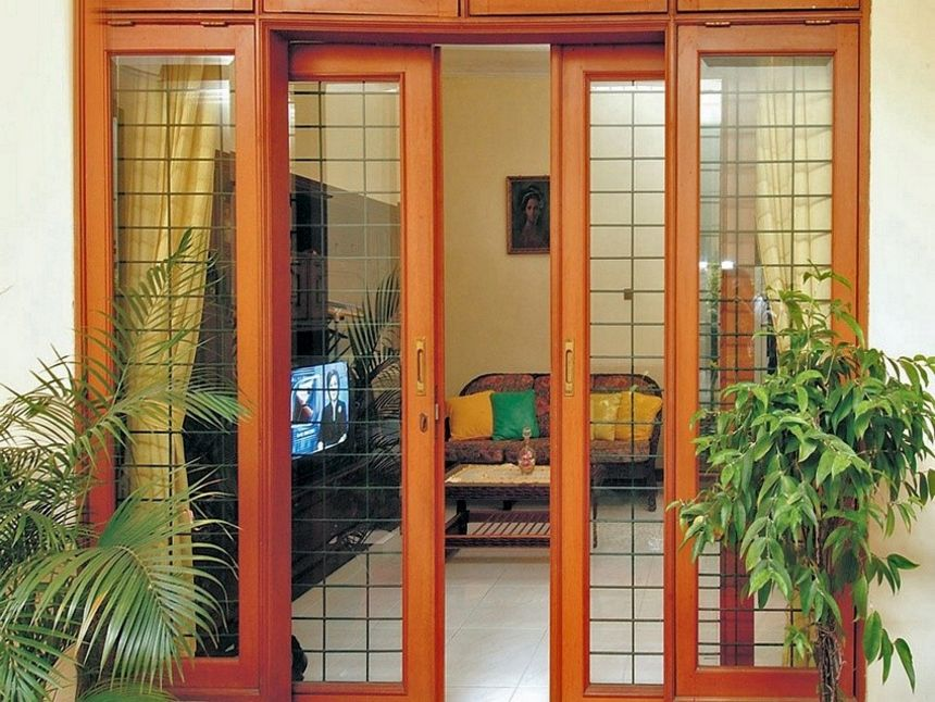 pintu kupu tarung variasi kaca 1