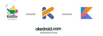 Perubahan logo pada Kotlin