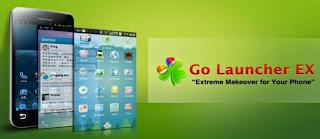 Aplikasi Go Launcher ex di Android
