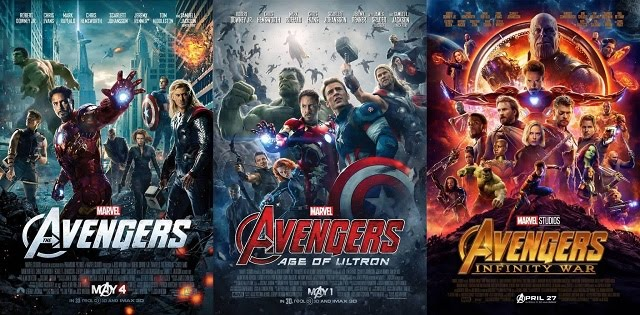 The Avengers Trilogy (1,2,3) Bluray Dual Audio 480p 720p 1080p Full Movie Download