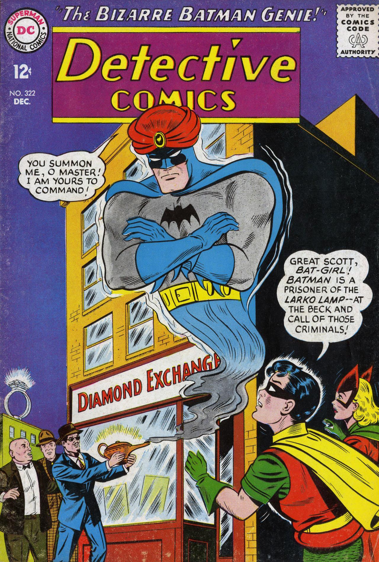 Detective Comics (1937) 322 Page 1