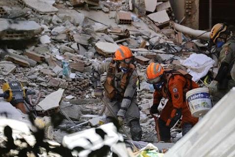 Brazil tragédia: Két négyemeletes ház dőlt össze