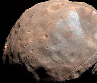 India's MOM Mission captured Image of Mars Moon Phobos