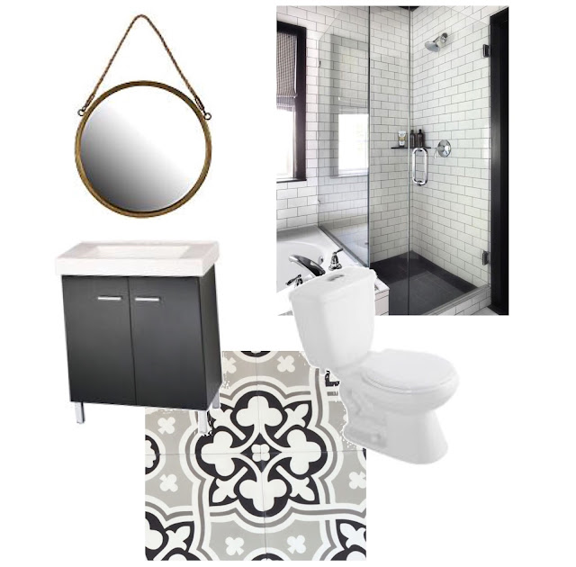 Bathroom Renovation plans - Harlow and Thistle