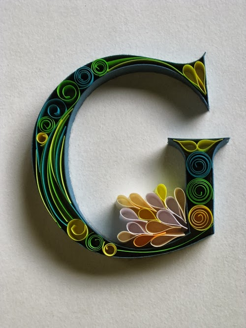 07-G-Quilling-Illustrator-Typographer-Calligrapher-Paper-Sculptor-Sabeena-Karnik-Mumbai-India-Sculptures-A-to-Z-www-designstack-co