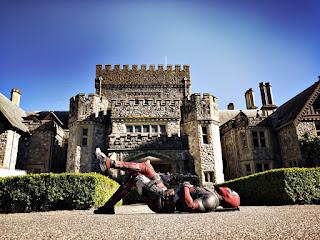 deadpool 2: imagenes del set y nuevos detalles