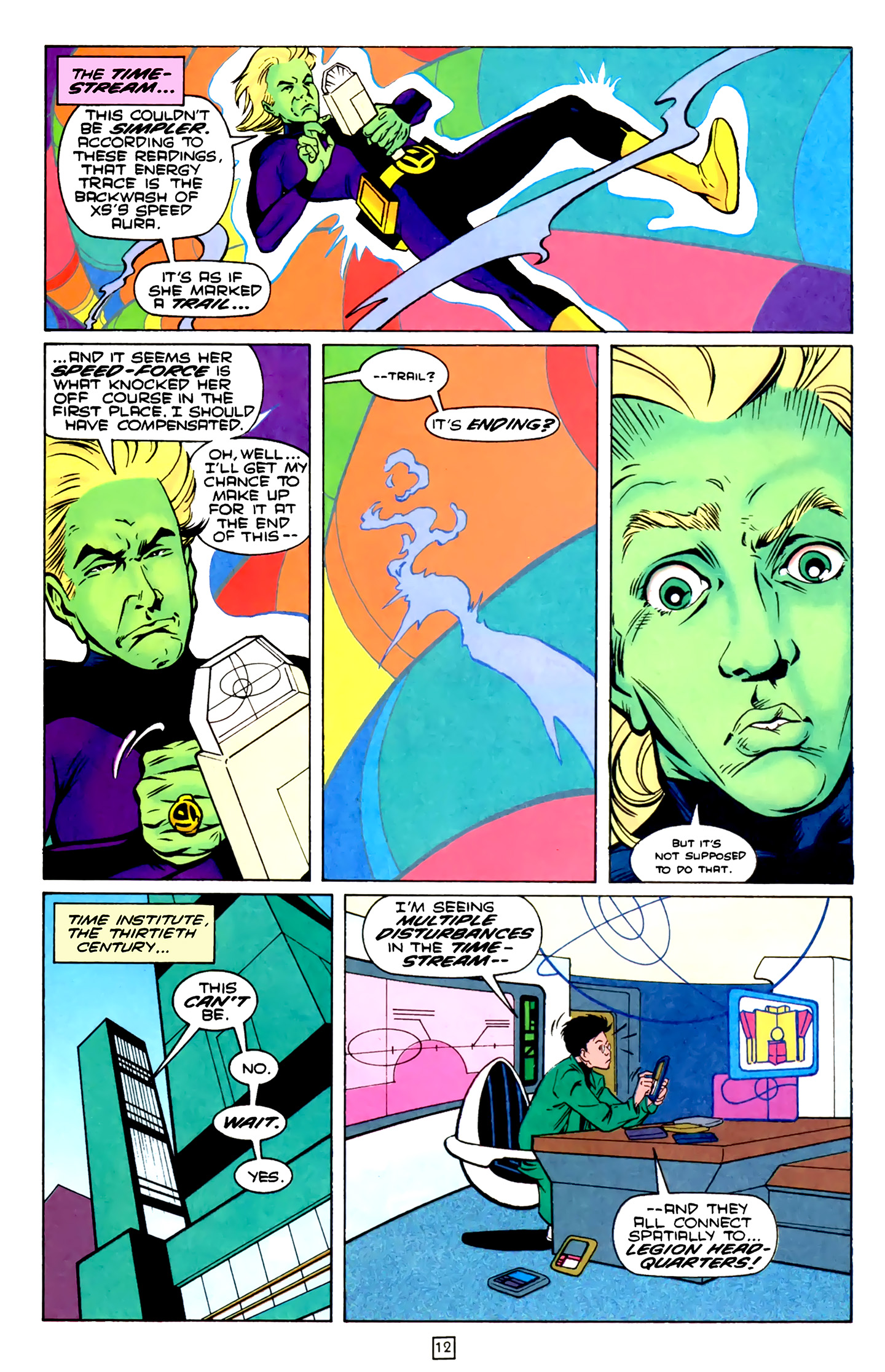 Legion of Super-Heroes (1989) 75 Page 12