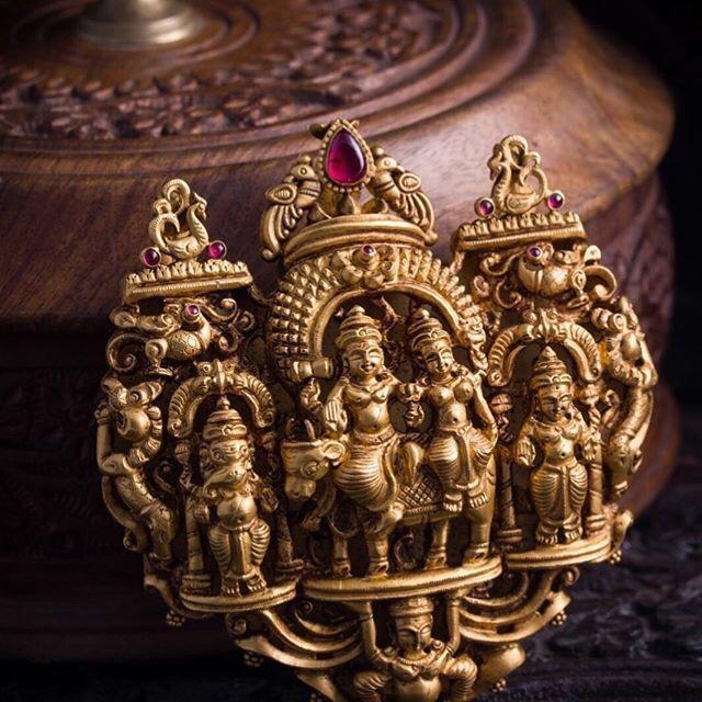 Lord Shiva and Balaji Pendants