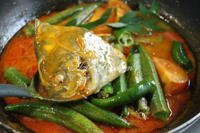 Kari Ikan Bawal Hitam