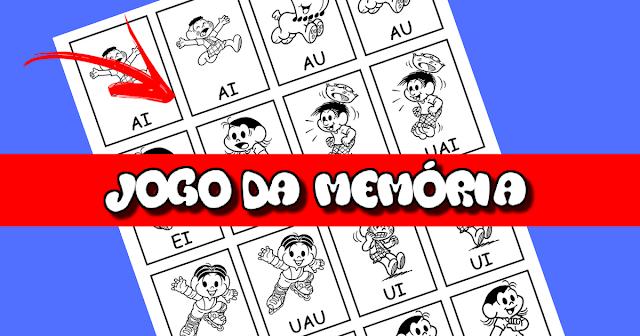 Jogo da Memória - Junções Vocálicas