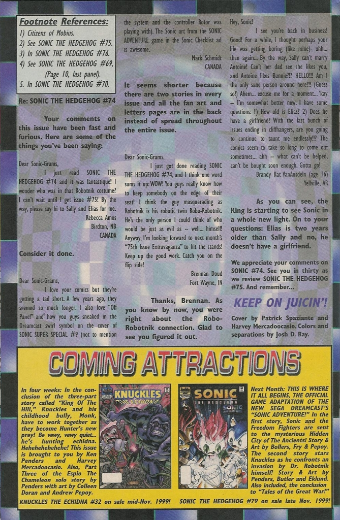 Read online Sonic The Hedgehog comic -  Issue #78 - 30