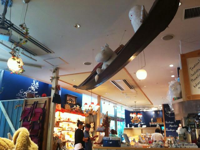 Moomin Cafe Japan