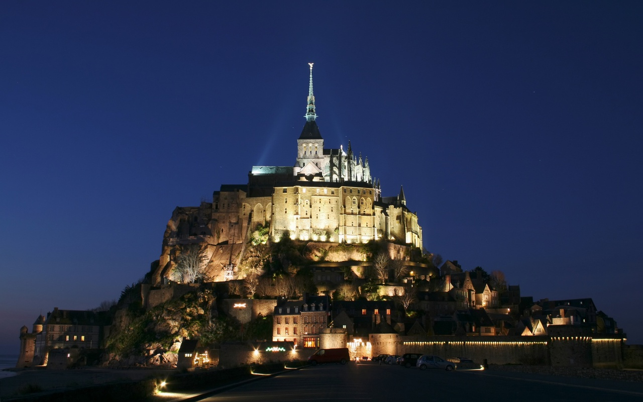 mont saint michel castle france world travel destinations. Black Bedroom Furniture Sets. Home Design Ideas