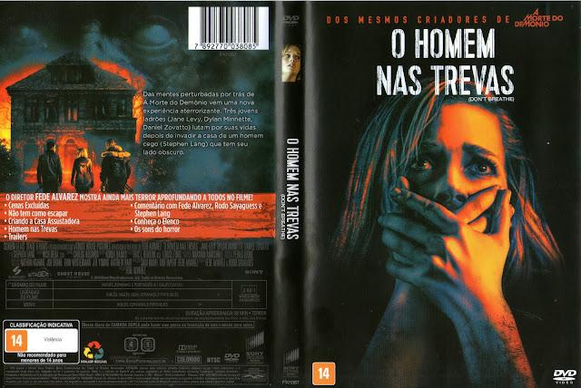 Capa DVD O Homem Nas Trevas