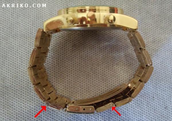 Cara Melepas atau Memotong Rantai Jam Tangan Stainless